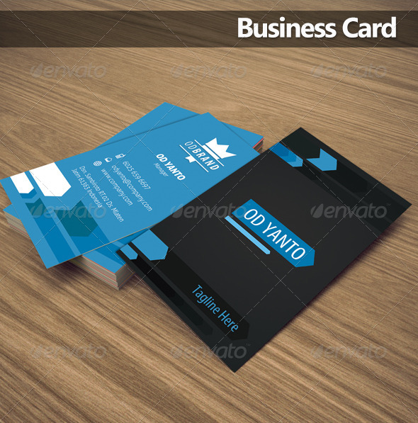 Business Card OD2 - Corporate Business Cards