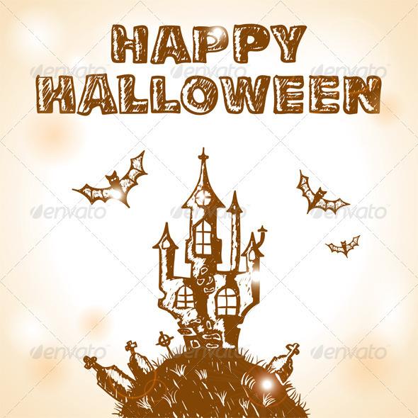 Halloween doodle - Halloween Seasons/Holidays