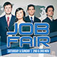Job Fair Event Flyer - GraphicRiver Item for Sale