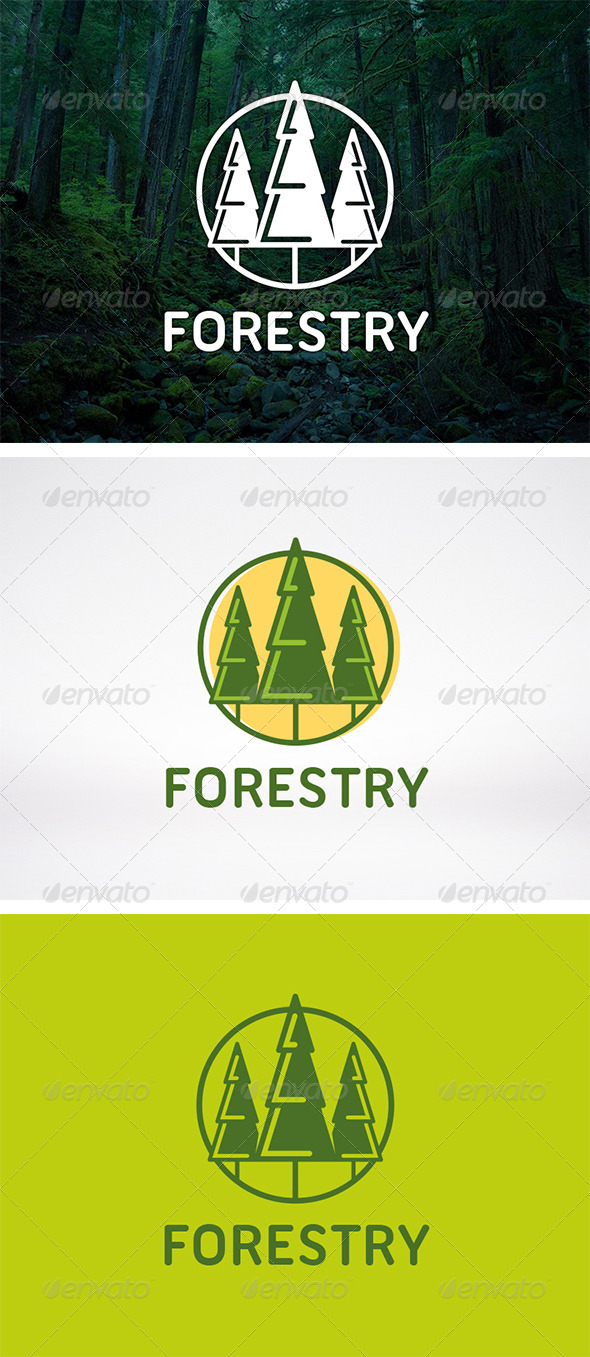 Tree Logo Template - Nature Logo Templates