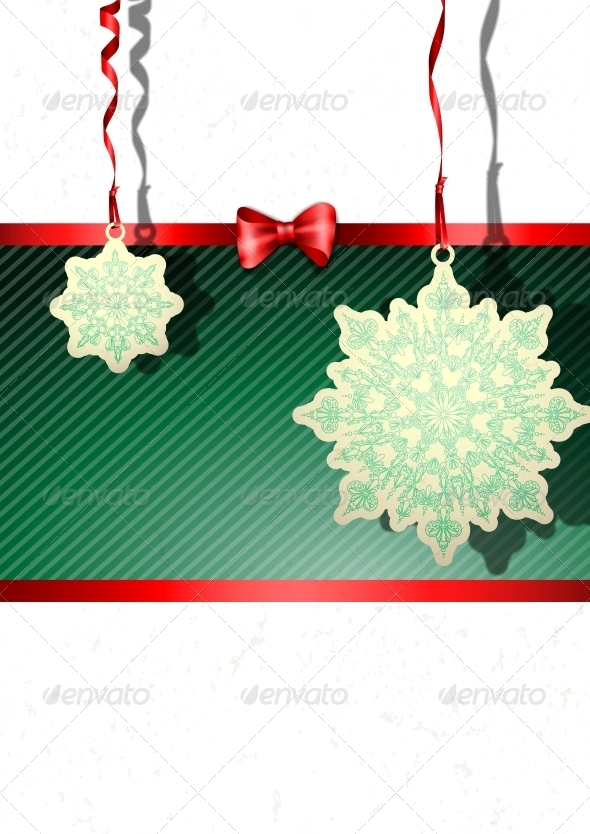 Elegant Christmas Background - Christmas Seasons/Holidays