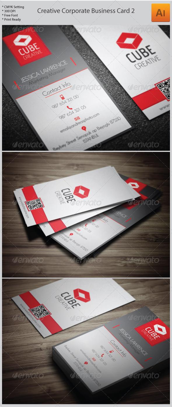 Creative Corporate Business Card 2 - Corporate Business Cards