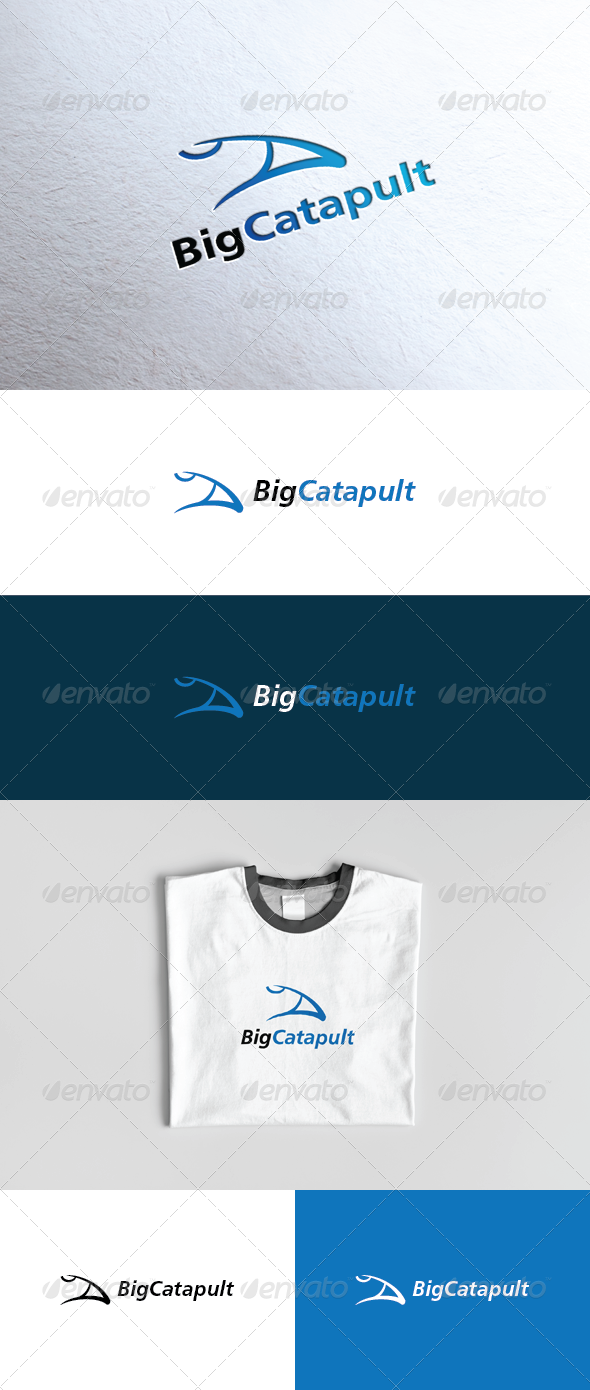 Big Catapult Logo - Vector Abstract