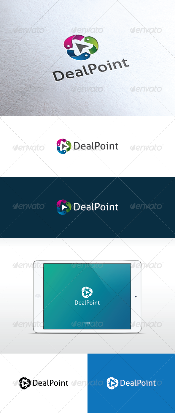 Deal Point Logo - Logo Templates