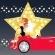 Girl and Car - GraphicRiver Item for Sale