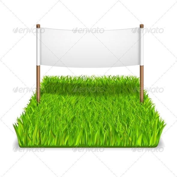 Green Grass Sign - Concepts Business