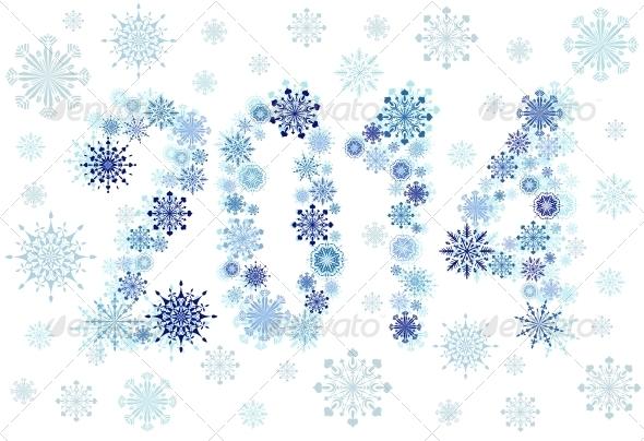 2014 Snow Stars - Christmas Seasons/Holidays