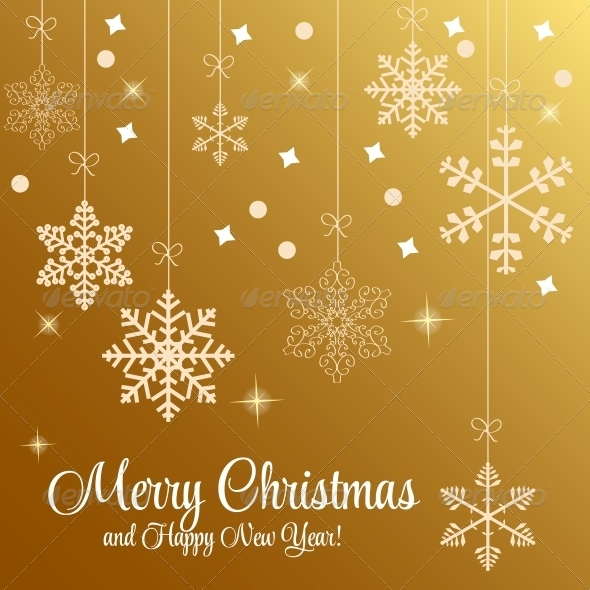 Abstract Christmas and New Year Background. - Christmas Seasons/Holidays