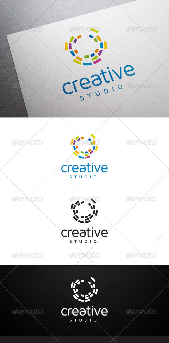 Creative Studio Logo - Abstract Logo Templates