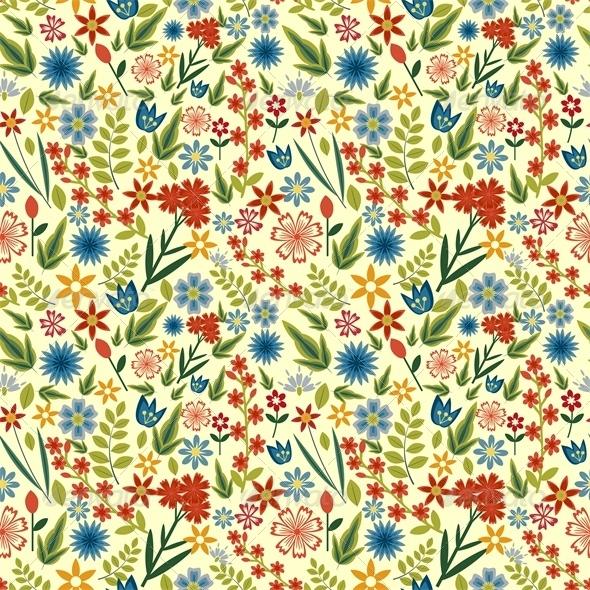 Field Pattern - Patterns Decorative