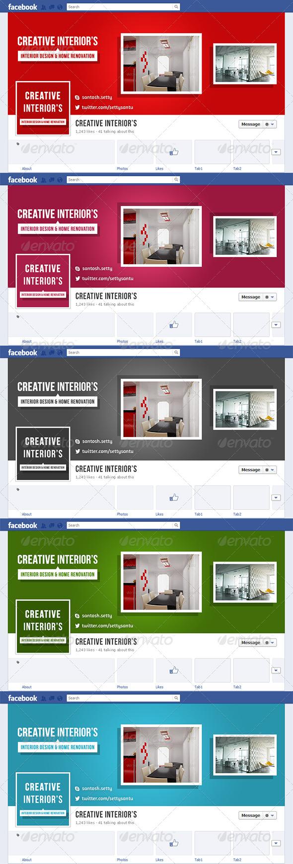 Interior Facebook Timeline Cover - Facebook Timeline Covers Social Media