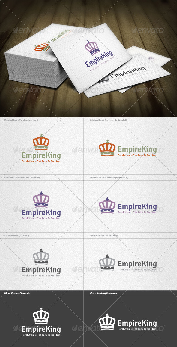 Empire King Logo - Crests Logo Templates
