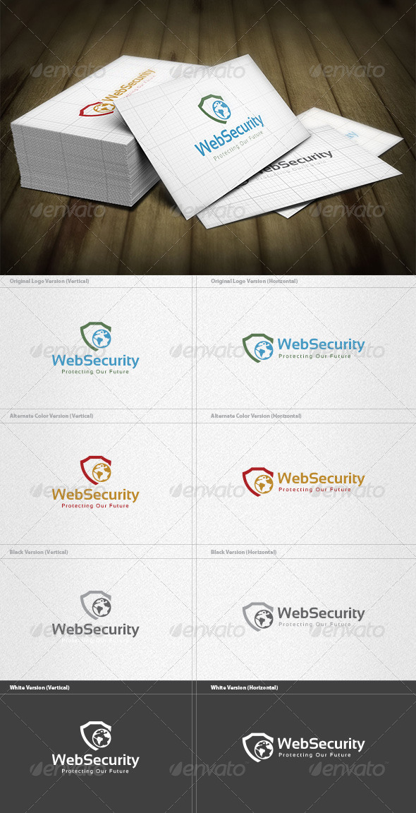 Web Security Logo - Symbols Logo Templates
