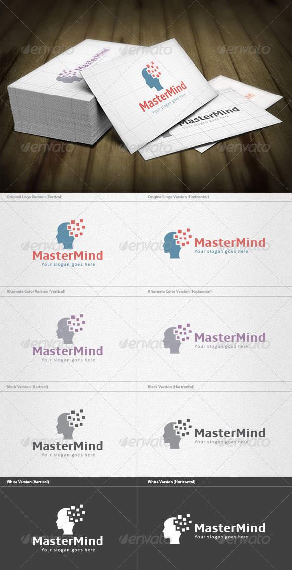 Master Mind Logo - Humans Logo Templates