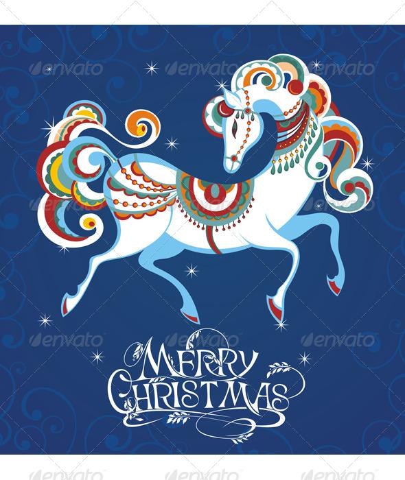 Horse  - Christmas Seasons/Holidays
