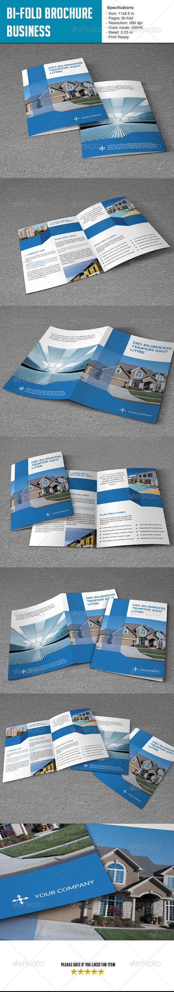 Bifold Brochure for Real Estate Co. - Corporate Brochures