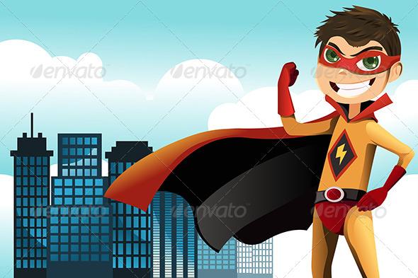 Superhero - Characters Vectors