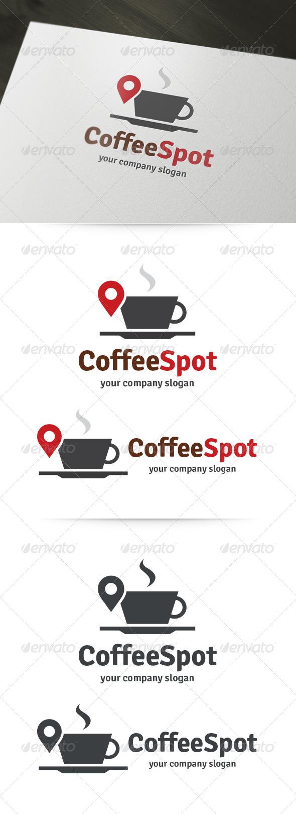 Coffee Spot Logo  - Abstract Logo Templates