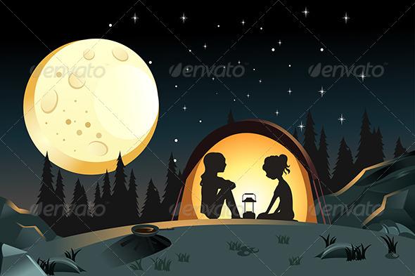 Camping - Sports/Activity Conceptual