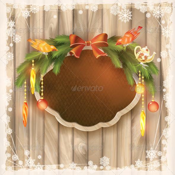 Christmas Frame Board - Christmas Seasons/Holidays