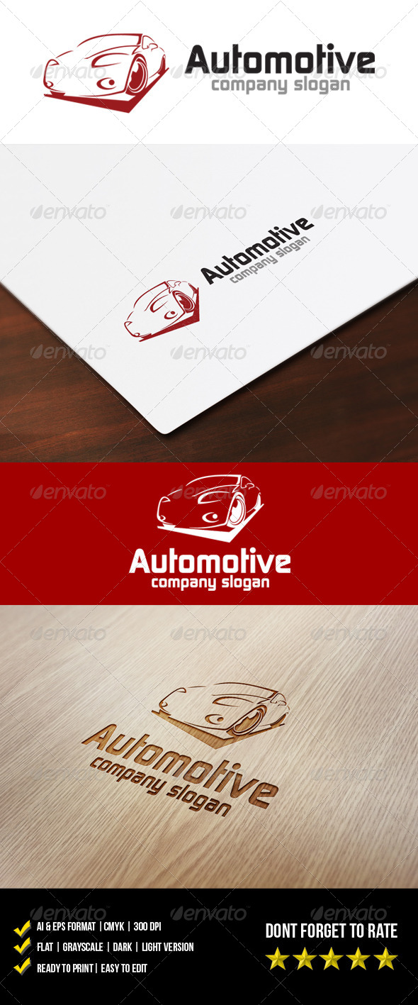 Automotive Logo - Objects Logo Templates
