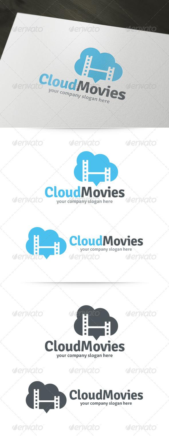 Cloud Movies Logo - Symbols Logo Templates