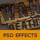 Photoshop 3D wood text - GraphicRiver Item for Sale