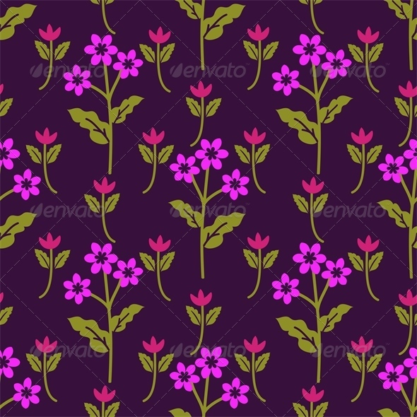 Purple Pattern - Patterns Decorative