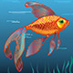 Golden Fish - GraphicRiver Item for Sale