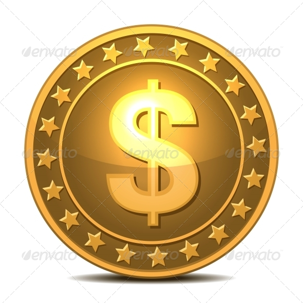 Dollars Money Coin - Services Commercial / Shopping