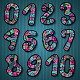 Hand Drawn Decorative Vector Numbers - GraphicRiver Item for Sale