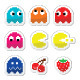 Pacman and Ghosts 80's Retro Computer Game - GraphicRiver Item for Sale
