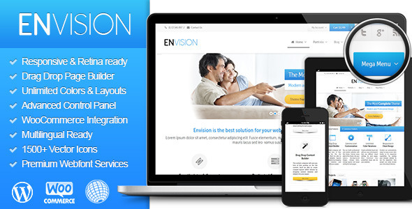 Envision - Responsive Retina Multi-Purpose Theme - Corporate WordPress