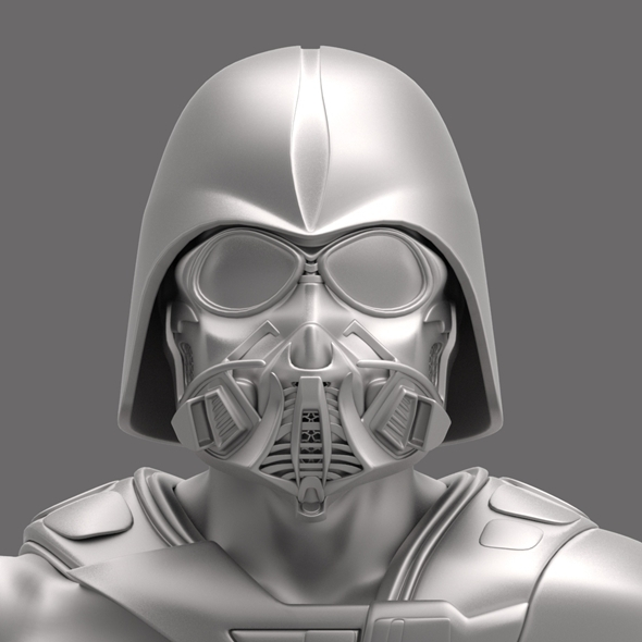 Dart Vader (modificated helm) - 3DOcean Item for Sale