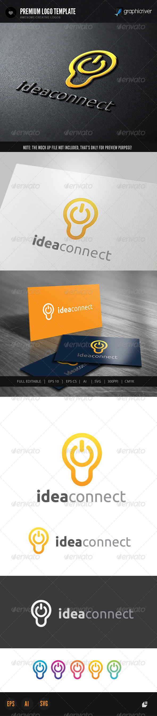 Idea Connect - Symbols Logo Templates