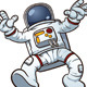 Cartoon Astronaut - GraphicRiver Item for Sale