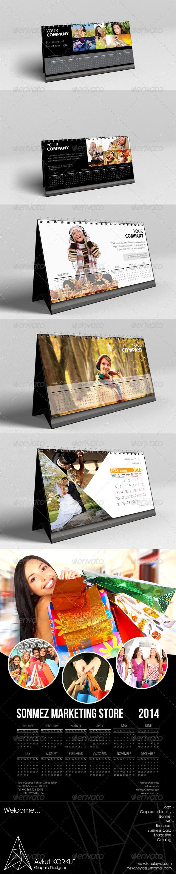 2014 Calendars - Calendars Stationery