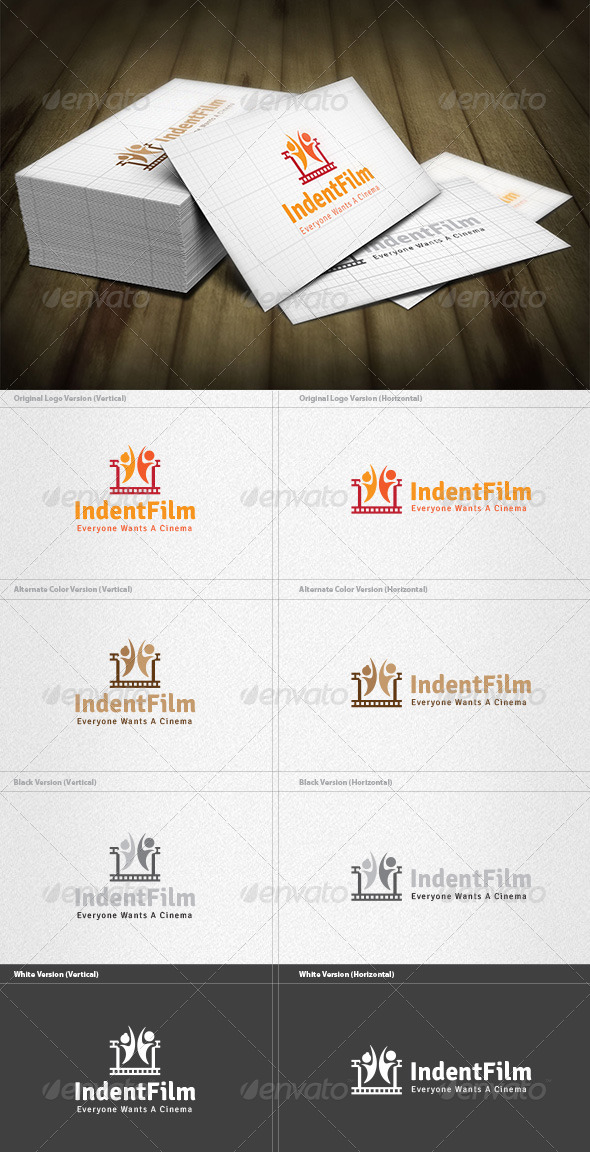 Independent Film Logo - Objects Logo Templates