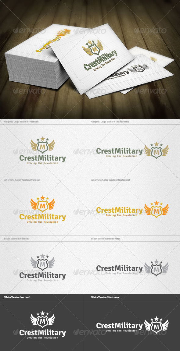 Military Crest Logo - Crests Logo Templates