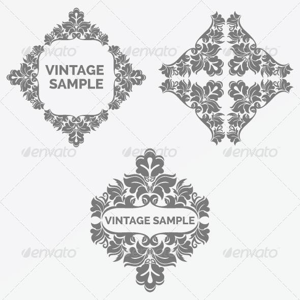 Vintage Frame 62 - Decorative Vectors