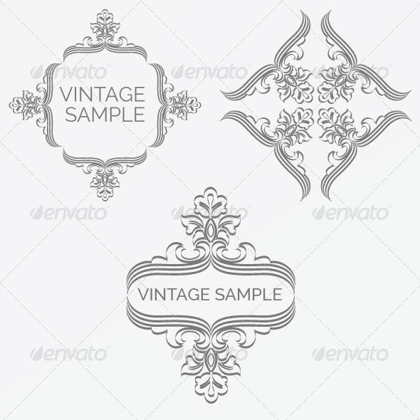 Vintage Frame 63 - Decorative Vectors