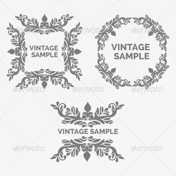 Vintage Frame 69 - Decorative Vectors