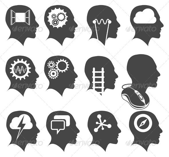 Creative Heads Illustration - Concepts Business