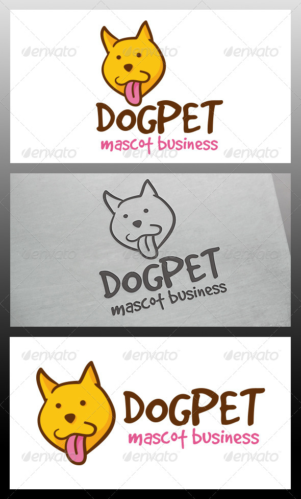 Dog Logo Template - Animals Logo Templates