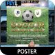A4 Soccer Poster - GraphicRiver Item for Sale