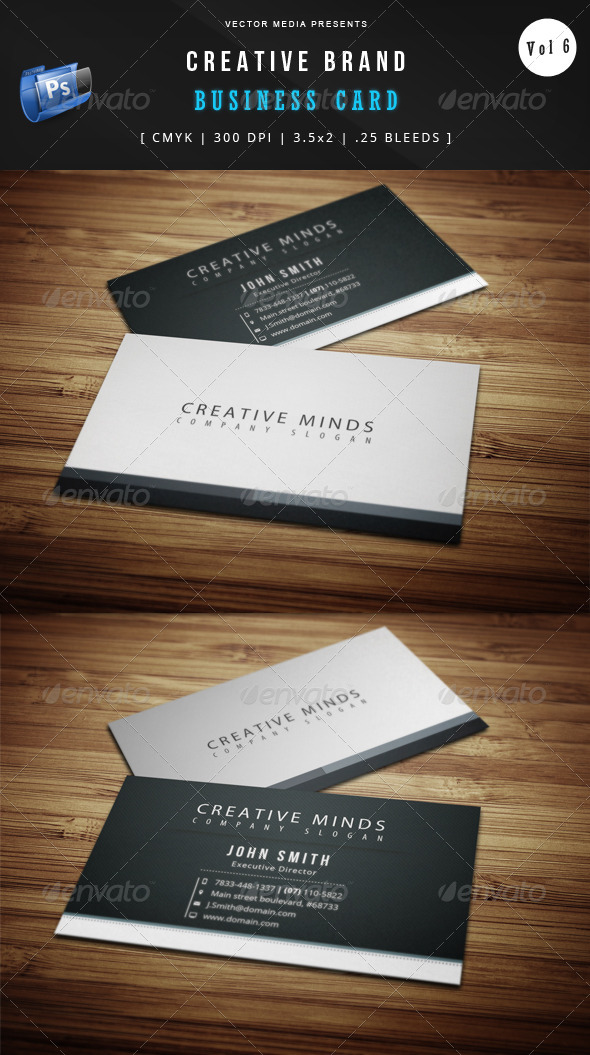 Creative Brand - Business Card [Vol.6] - Creative Business Cards