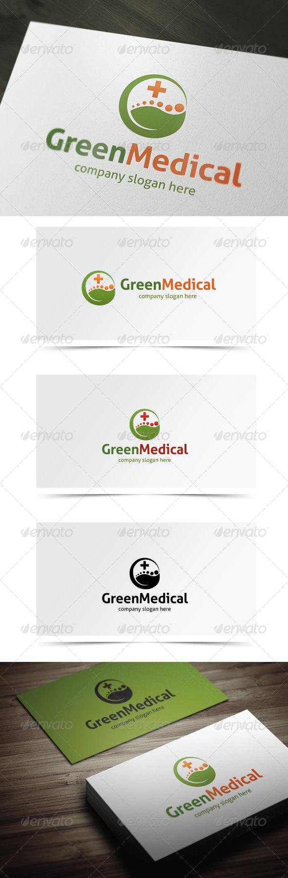 Green Medical - Nature Logo Templates