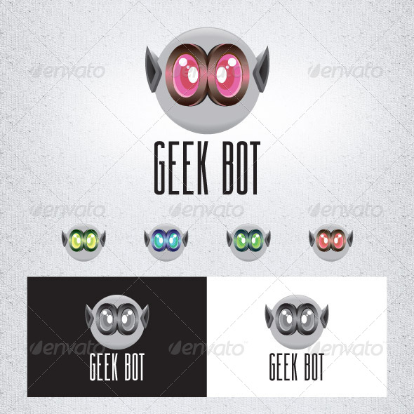 Geek Bot - Objects Logo Templates