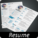 Simple Resume 2 + Cover Letter. A4 and US Letter  - GraphicRiver Item for Sale