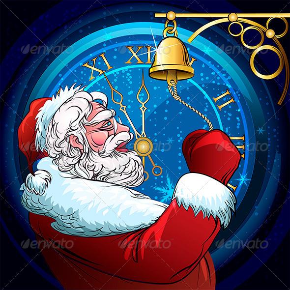 The Ringing Santa Claus - Christmas Seasons/Holidays